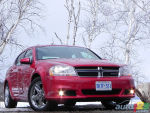 2011 Dodge Avenger road test video