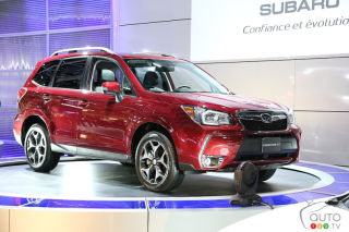 2014 Subaru Forester video preview during the Montreal Auto Show