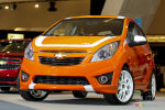 (french only) 2013 Chevrolet Spark video at the 2012 Montreal auto show