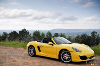 2013 Porsche Boxster video