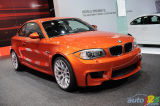 2011 BMW 1M Coupe video preview during the Detroit Auto Show