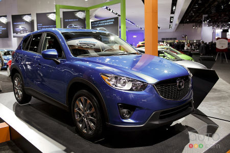 Video preview of the 2013 Mazda CX-5 at the Detroit Auto Show
