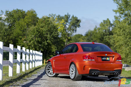 2011 BMW 1M Coupe walk-around video