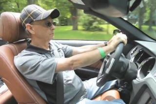 Emotional ride in a Ford Mustang GT Cabriolet