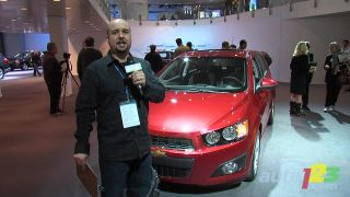 2012 Chevrolet Sonic video at the Detroit auto show