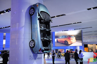 Video of the Ford booth at the 2011 Detroit Auto Show