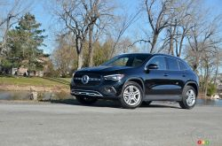 We drive the 2021 Mercedes-Benz GLA 250 4MATIC