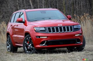 2016 Jeep Grand Cherokee SRT pictures