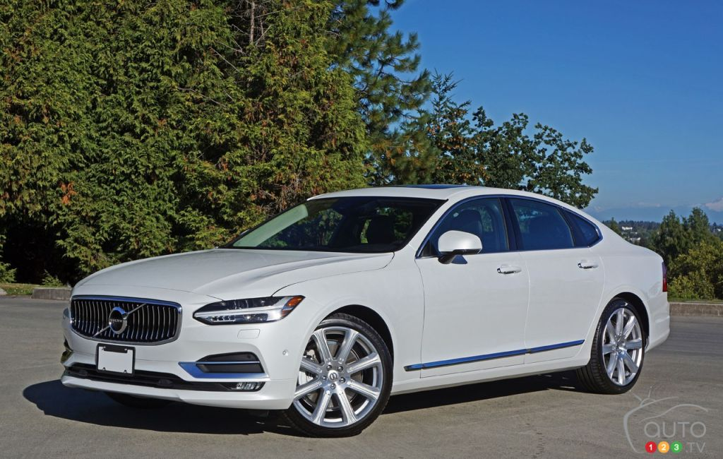 2017 Volvo S90 T6 Awd Inscription Is Simply Divine Car