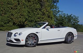Photos de la Bentley Continental GT Speed Convertible 2016