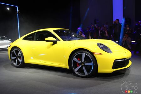 2020 Porsche 911 launch pictures