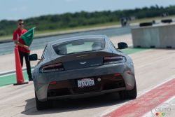 2015 Aston Martin V12 Vantage S rear view