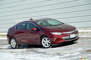 2016 Chevrolet Volt pictures