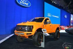 Ford F-250 Super Duty XLT by BDS Suspension