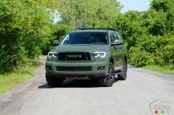 We drive the 2020 Toyota Sequoia TRD Pro