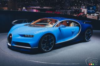 Sports Car from the 2016 Geneva Auto Show