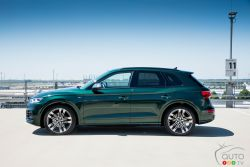 Side view of the SQ5