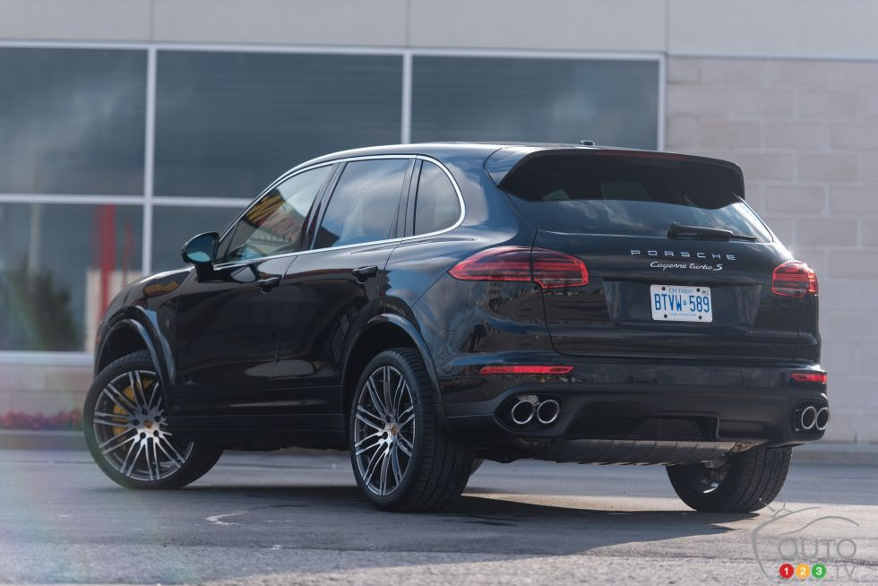 2016 Pporsche Cayenne Turbo S Pictures Photo 3 Of 63 Auto123