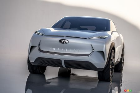 Photos du prototype INFINITI QX Inspiration