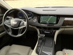 2016 Cadillac CT6 dashboard
