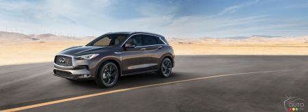 The all-new 2019 INFINITI QX50 pictures