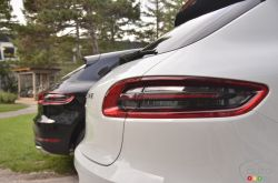 2017 Porsche Macan tail light