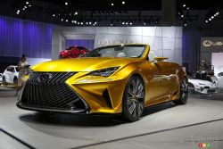 2014 Lexus LF-C2 concept pictures from the Los Angeles auto show ...
