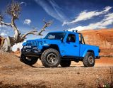 Jeep Gladiator concept pictures