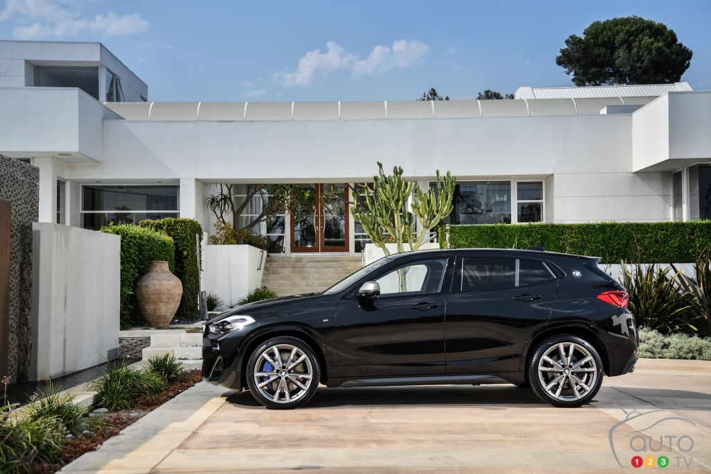 Bmw Introduces New X2 M35i Version Of Its Crossover Car News Auto123