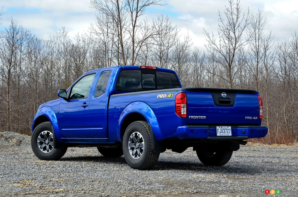2015 Nissan Frontier PRO-4X | Car Reviews | Auto123