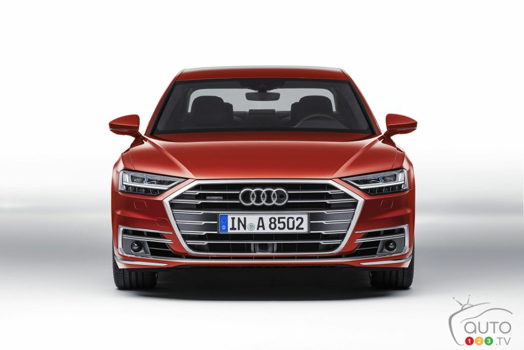 All-new 2019 Audi A8 unveiled with artificial intelligence