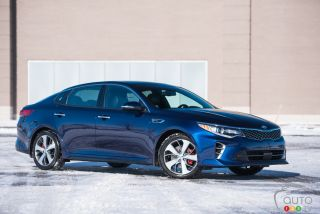 2016 Kia Optima SXL pictures