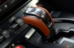 2017 Nissan GT-R shift knob