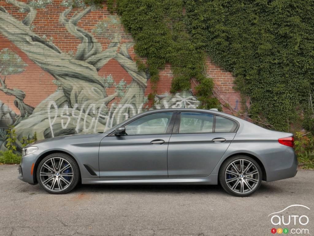 2017 Bmw 540i Xdrive A Sport Sedan With A Gadget Problem