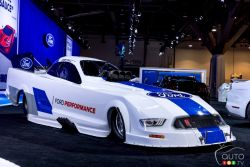 Ford Mustang Funny Car by Bob Tasca III for NHRA