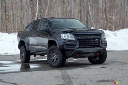 2021 Chevrolet Colorado ZR2 Midnight pictures