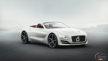 Photos du prototype de voiture électrique Bentley EXP 12 Speed 6e