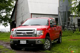 2013 Ford F-150 XLT SuperCab 4X4 pictures