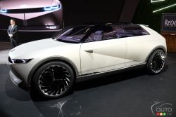 Canadian premier for the Hyundai 45 concept