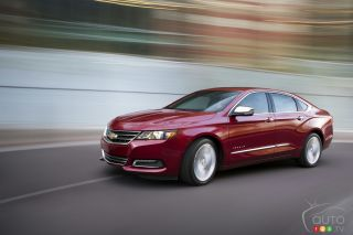 2014 Chevrolet Impala pictures