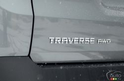2020 Chevrolet Traverse RS, side logo
