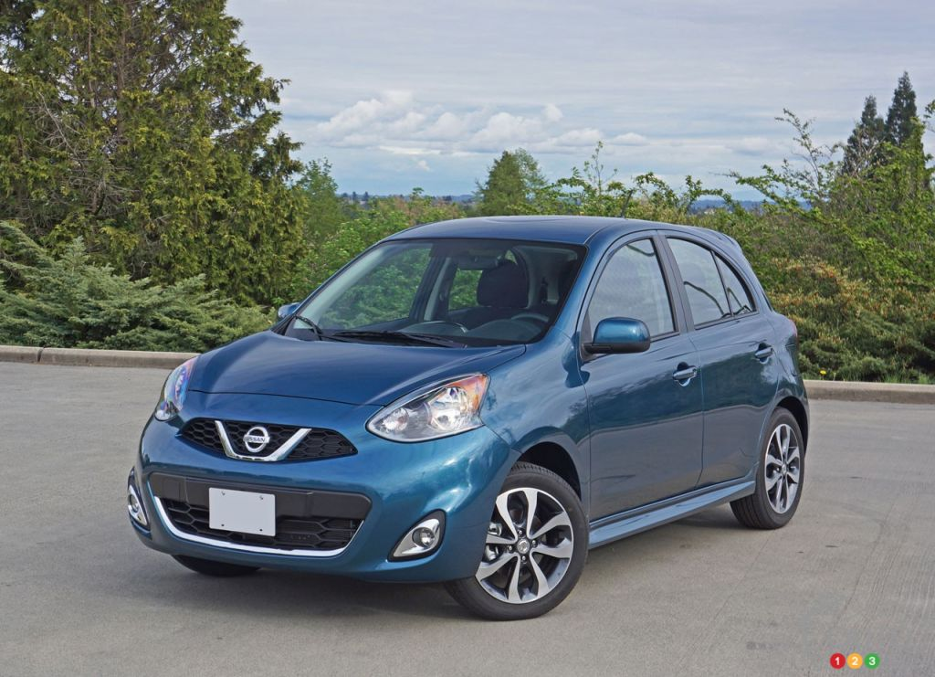 2016 nissan micra sr doesn 39 t cease to amaze car reviews auto123. Black Bedroom Furniture Sets. Home Design Ideas