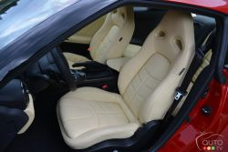 2017 Nissan GTR front seats