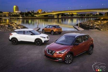 The new 2018 Nissan Kicks pcitures