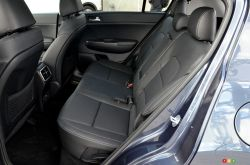 2017 Kia Sportage rear seats