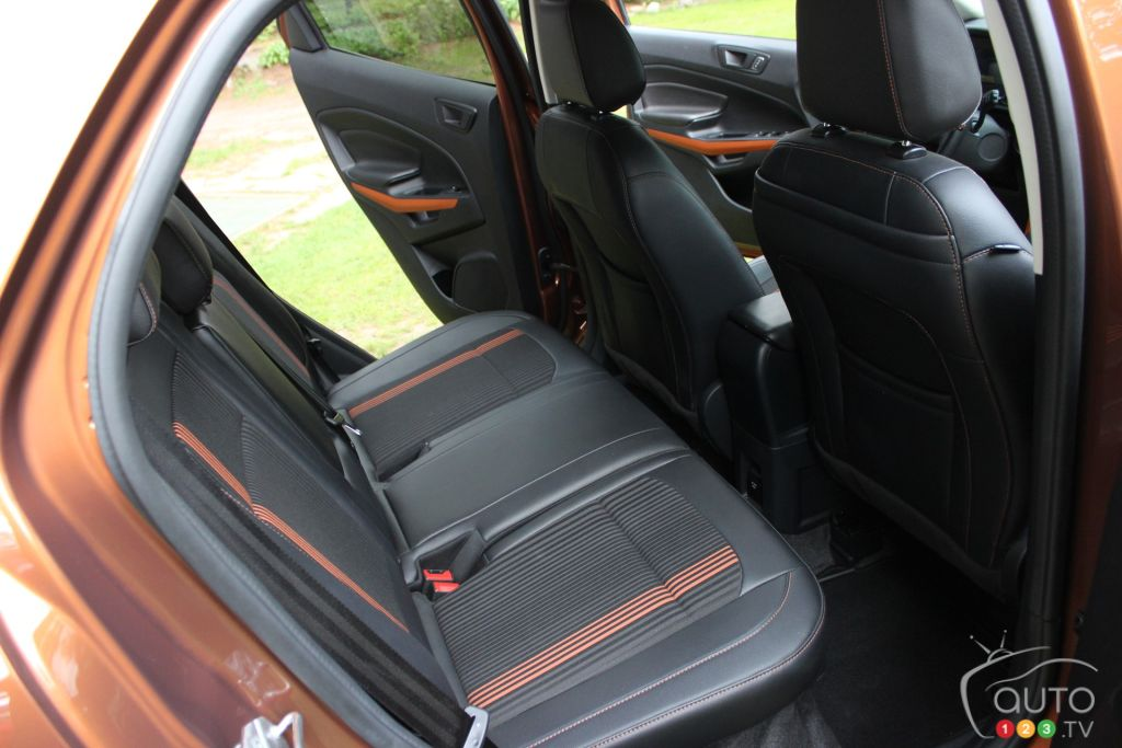 2018 Ford EcoSport Rear Seats