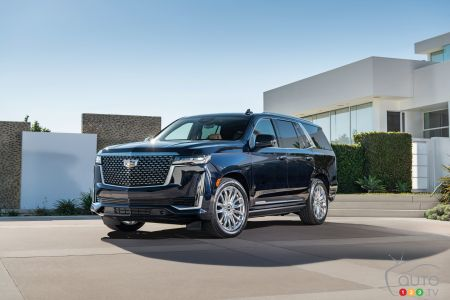 Photos du Cadillac Escalade 2021