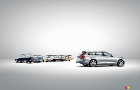 Volvo's wagons pictures