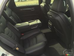 2016 Cadillac CT6 rear seats