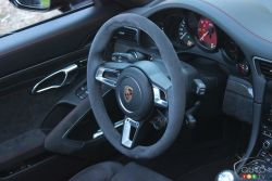 Dashboard and wheel